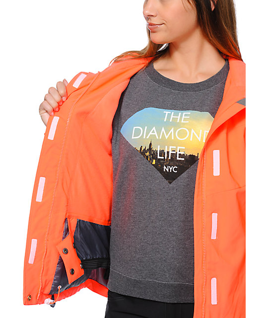 Aperture Girl Chassis Coral 10K Snowboard Jacket