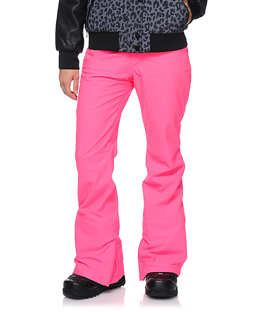 Aperture Girl Kaleidoscope Pink 10K Snowboard Pants