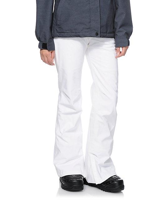 Aperture Girl Kaleidoscope White 10K Snowboard Pants