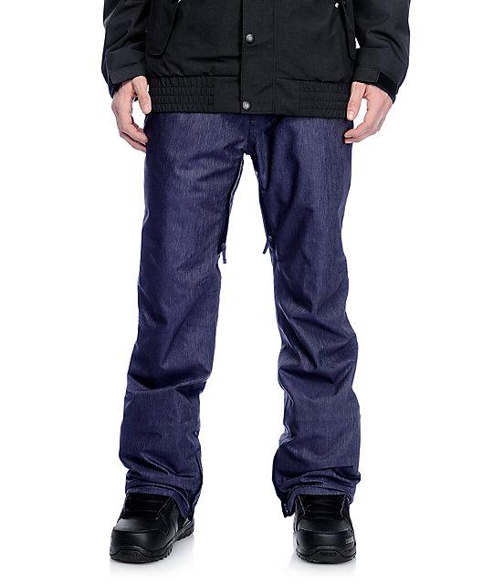 Aperture Green Line 10K Denim Snowboard Pants