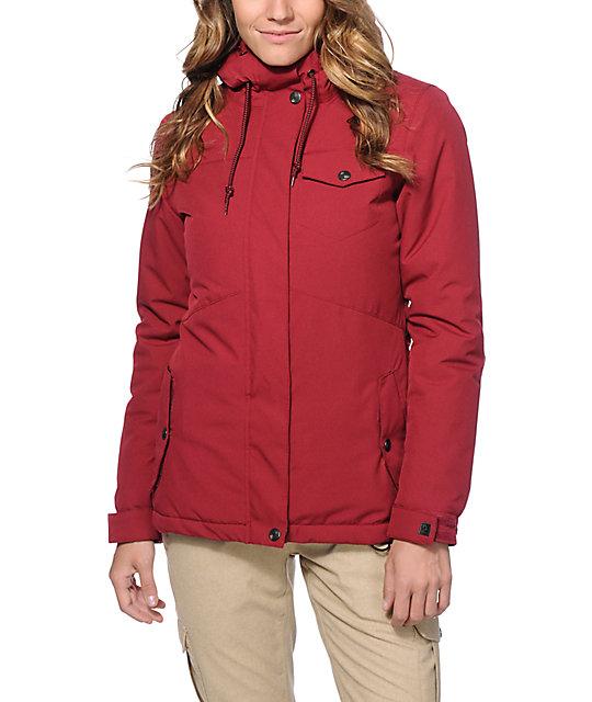 Aperture Heaven Burgundy 10K Snowboard Jacket