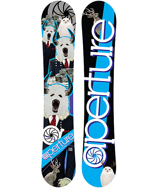 Aperture Image 161cm Mid Wide Mens Snowboard