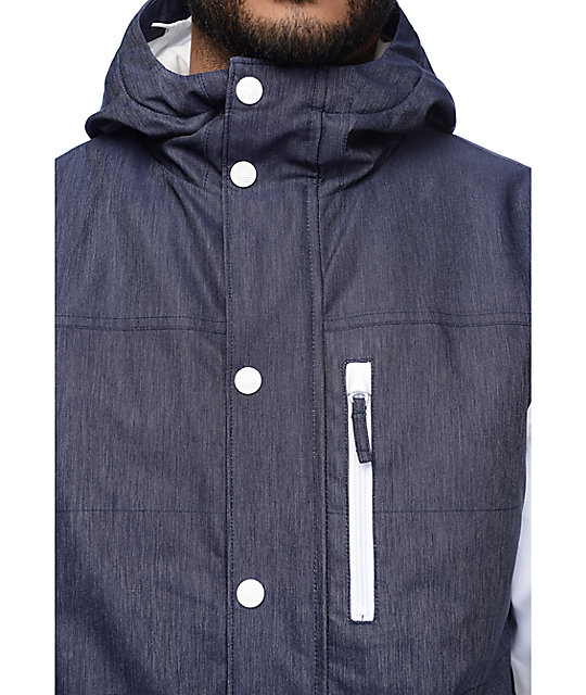 Aperture Outlaw 10K Denim Snowboard Jacket