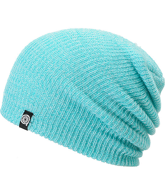 Aperture Pedro Ceramic & Teal Slouchy Beanie