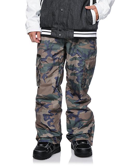Aperture Sentry Camo Cargo 10k Snowboard Pants