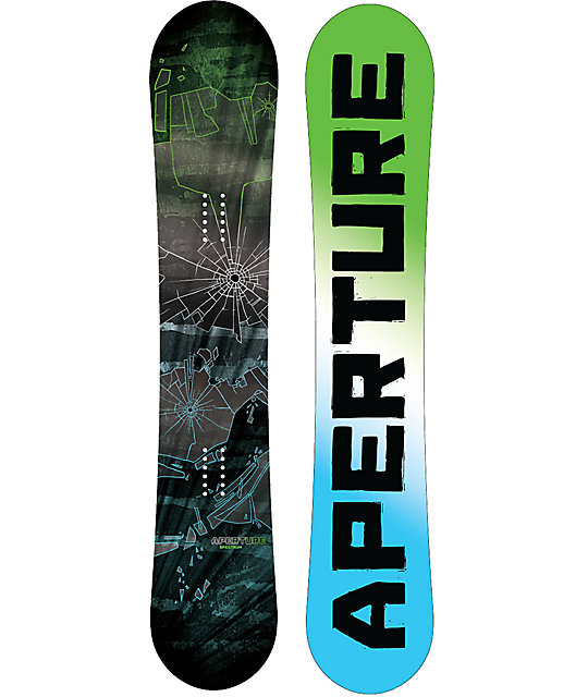 Aperture Spectrum 144cm Rasta Boys Snowboard