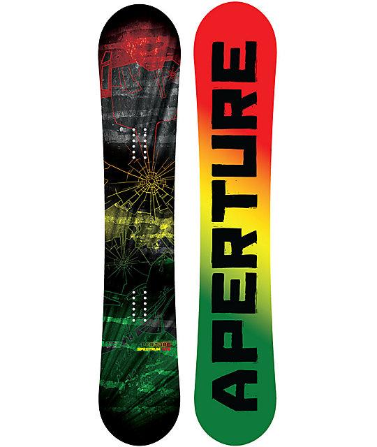 Aperture Spectrum 161cm Mid Wide Rasta Snowboard