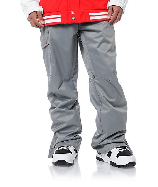 Aperture Union Grey 10K Mens Snowboard Pants