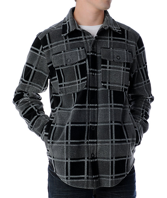 Aperture Viktor Black & Grey Tech Fleece Jacket
