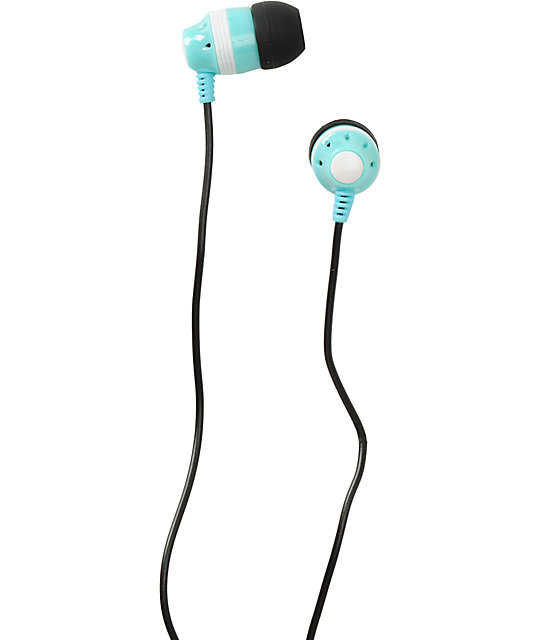 Aperture Womp Turquoise Earbuds
