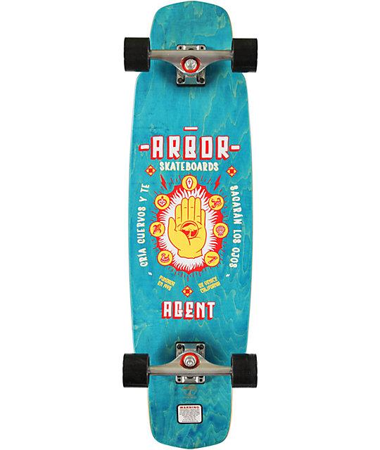 "Arbor Agent 35""  Longboard Complete"