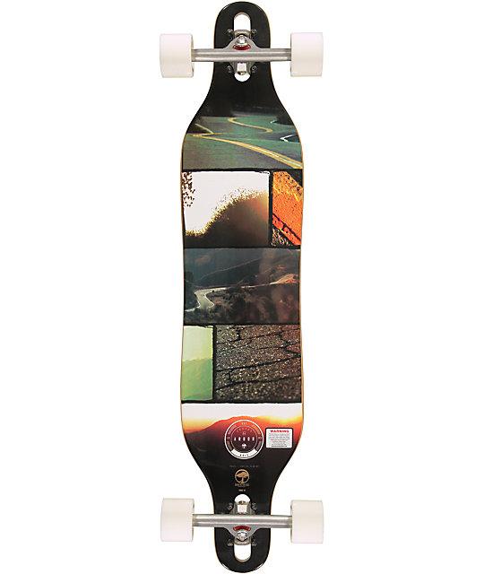 "Arbor Axis Walnut 40""  Longboard Complete"