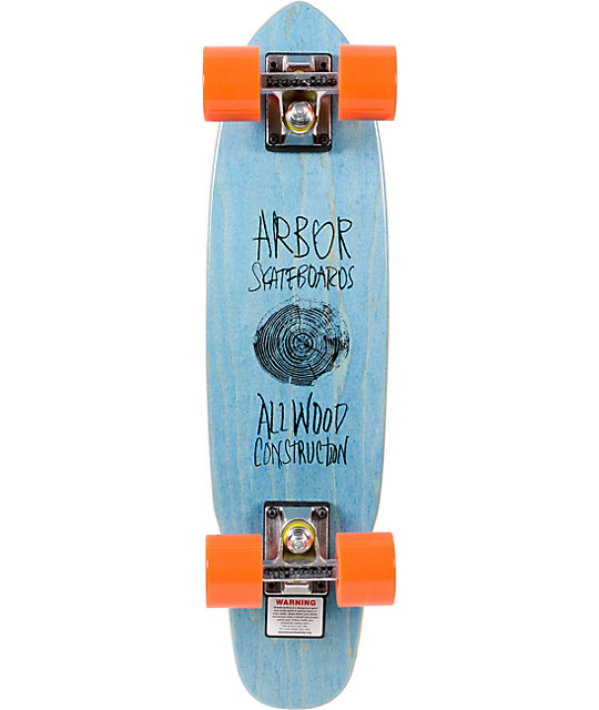 "Arbor Blue Woody 23.5""  Cruiser Complete"