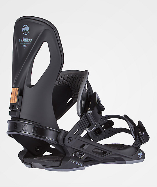 Arbor Cypress Black Snowboard Bindings