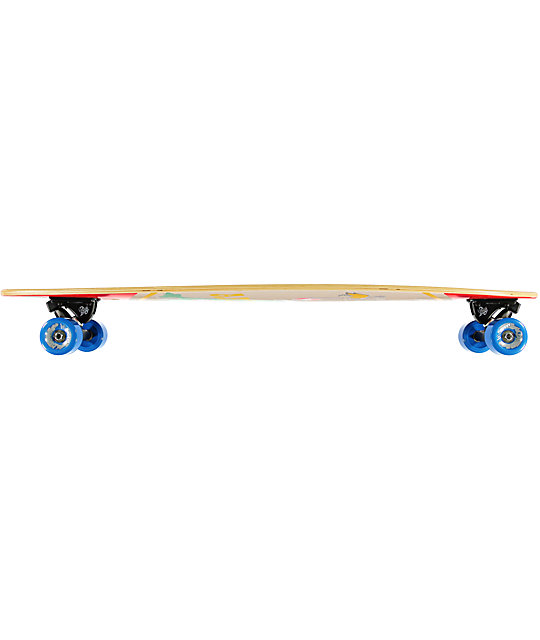 "Arbor Fish 38""  Pintail Longboard Complete"