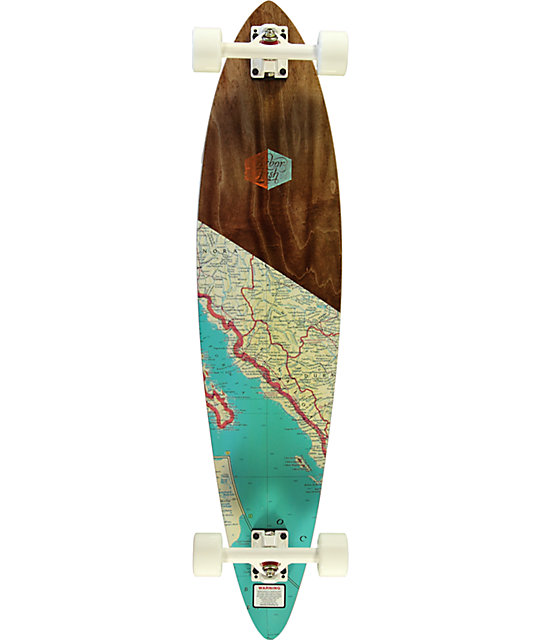 Arbor fish 39 pintail longboard complete at zumiez pdp for Arbor fish longboard