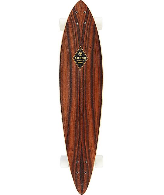 Arbor fish 39 pintail longboard complete zumiez for Arbor fish longboard