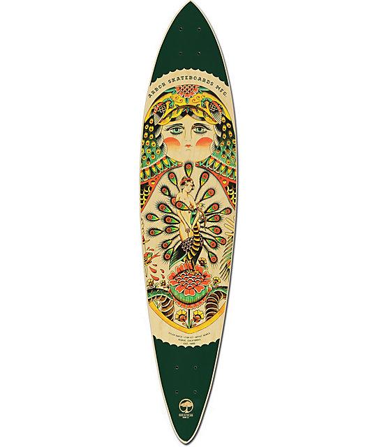 Arbor fish ac 39 pintail longboard deck for Arbor fish longboard