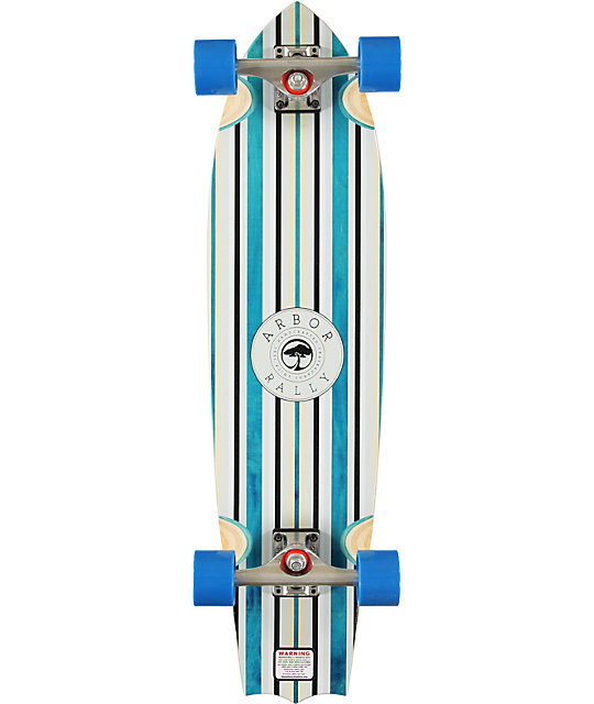 "Arbor Rally 33.25""  Longboard Complete"