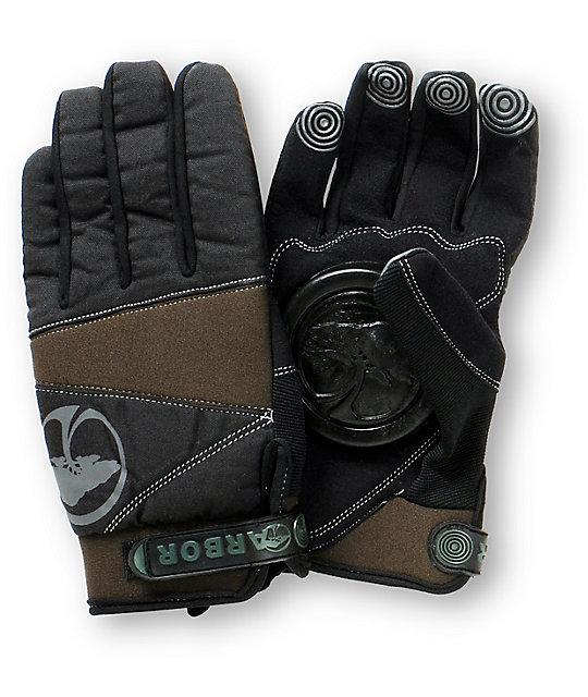 Arbor Signature Black Slide Gloves