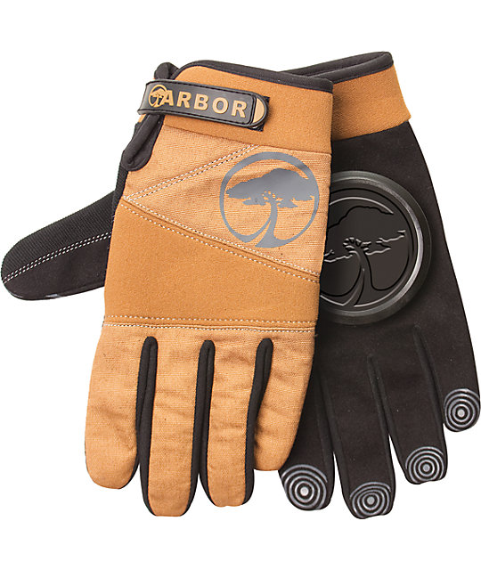Arbor Signature Brown Slide Glove