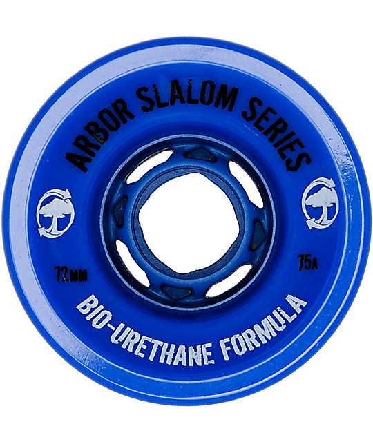 Arbor Slalom Series 72mm Skateboard Wheels