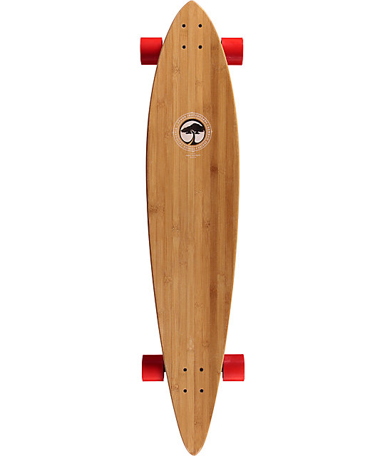 "Arbor Timeless Bamboo 46""  Pintail Longboard Complete"
