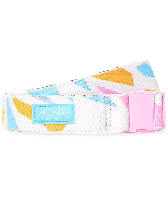 Arcade Pillow Fight Pink & Multi Clip Belt