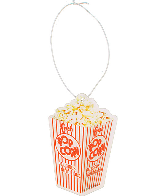 Archie McPhee Buttered Popcorn Air Freshener