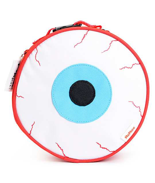 Archie McPhee Eyeball Insulated Lunch Bag
