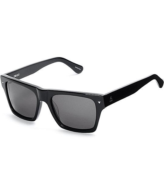 Ashbury Diego Black Sunglasses