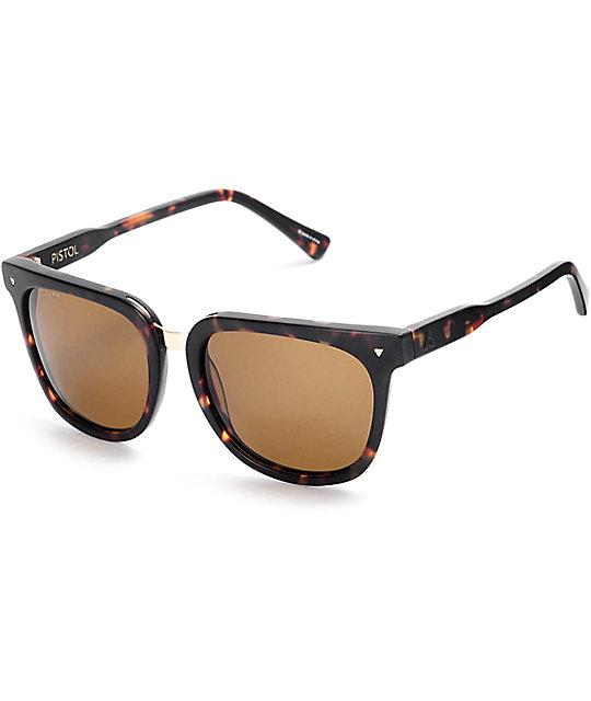 Ashbury Pistol Tortoise Sunglasses