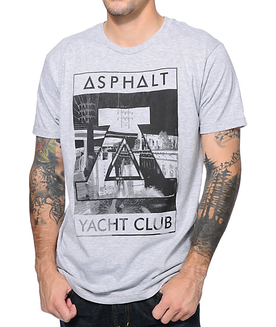 Asphalt Yacht Club LA River Grey T-Shirt