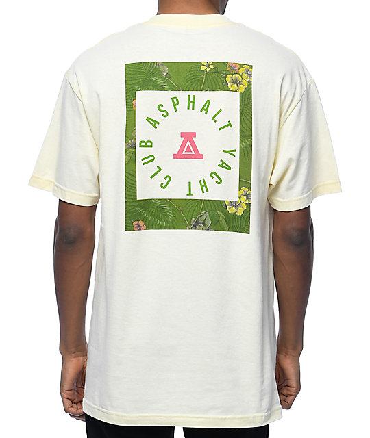 Asphalt Yacht Club Olive Hawaiian Tan T-Shirt