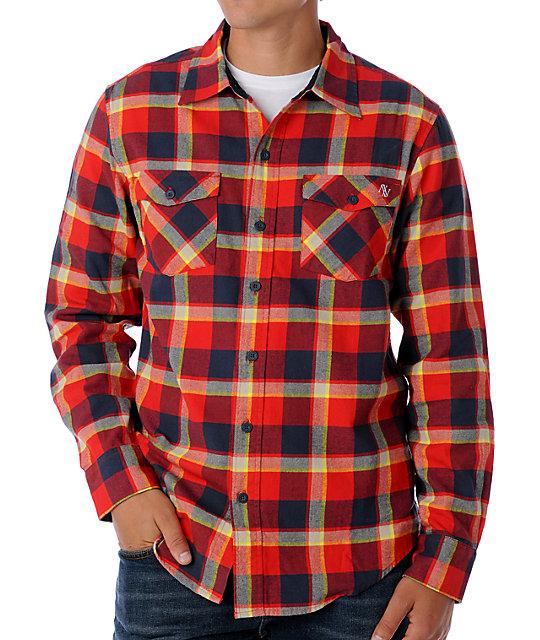 Atwater Ganteez Red Flannel Shirt