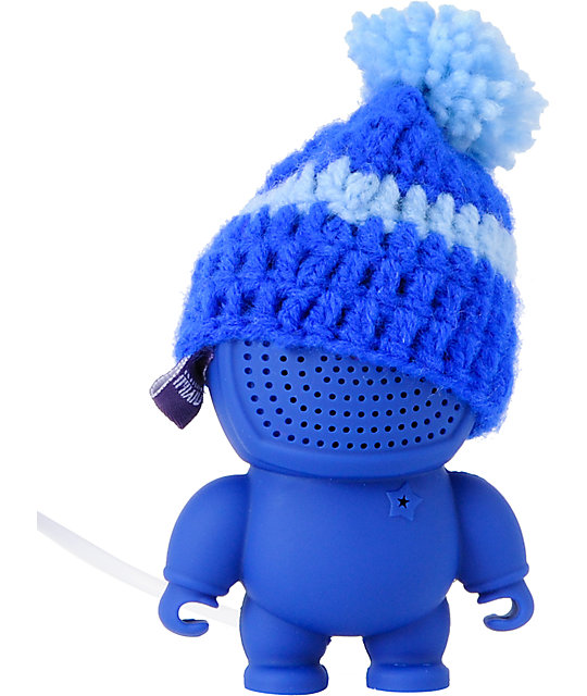 Audiobot Royal Blue Beanie Bot Powered Speaker