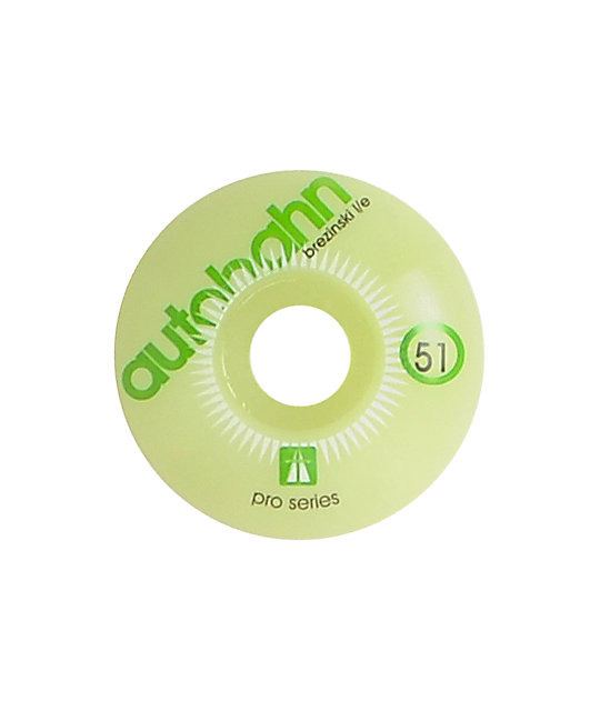 Autobahn Brezinski 51mm Glow In The Dark Skateboard Wheels