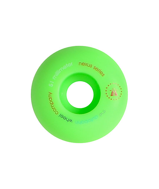 Autobahn Nexus Green 51mm Skateboard Wheels