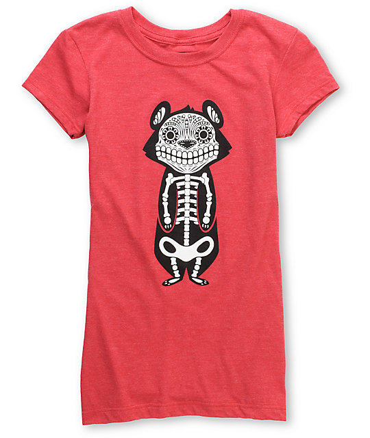 Awesome Academy Bear Of The Dead Red T-Shirt