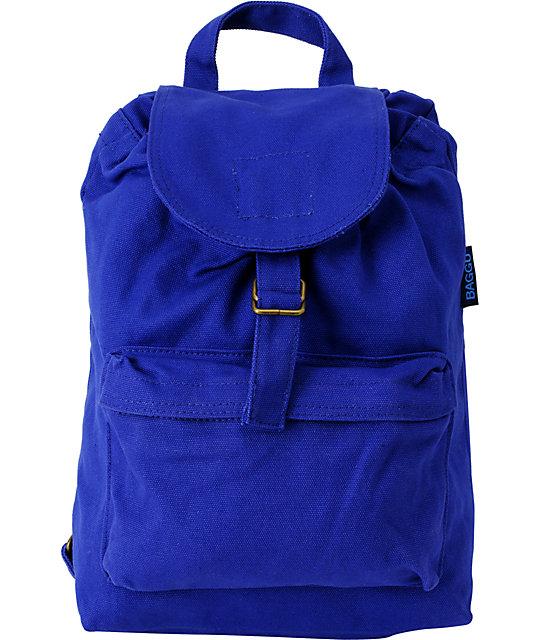 Baggu Cobalt Blue Backpack
