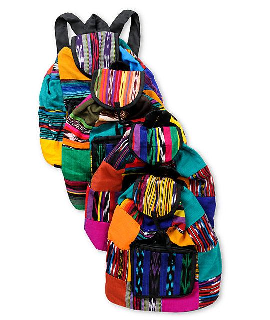 Baja Bags Patchwork Backpack