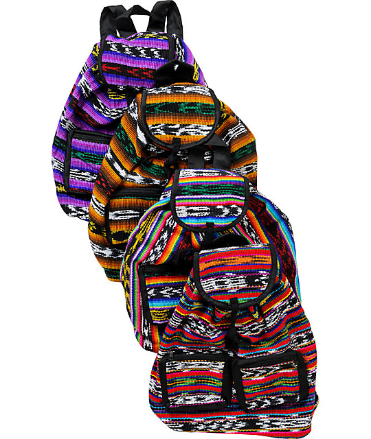 Baja Bags Perraje Bright Lana Backpack