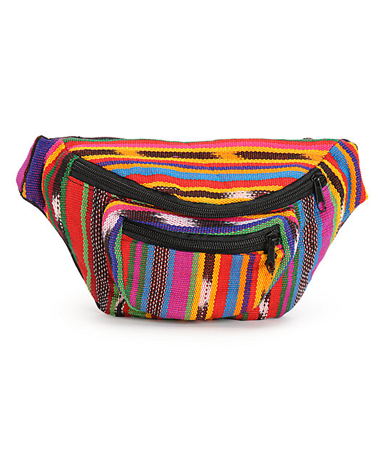 Baja Bags Tribal Stripe Fanny Pack