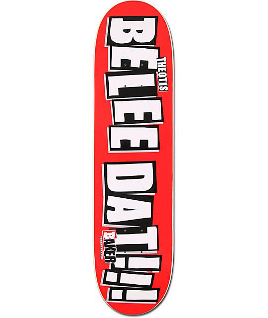 "Baker Beasley Beleedat 8.0""  Skateboard Deck"