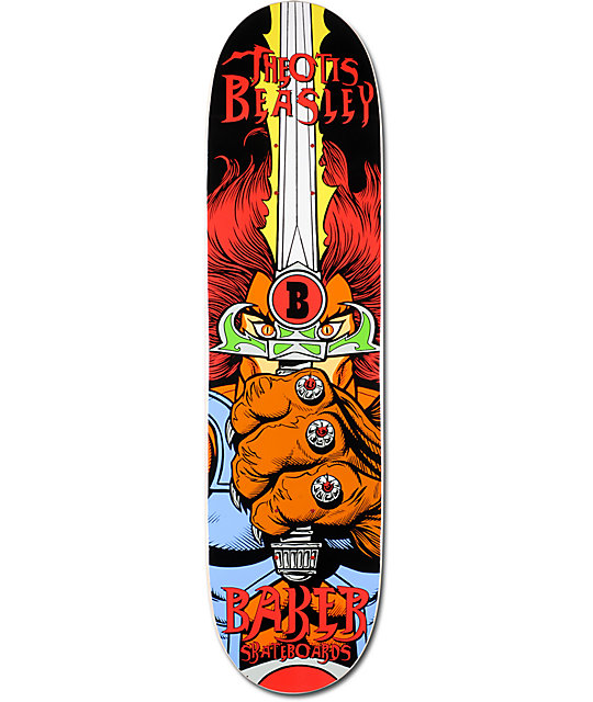 "Baker Beasley Eye Of The Tiger 8.0""  Skateboard Deck"