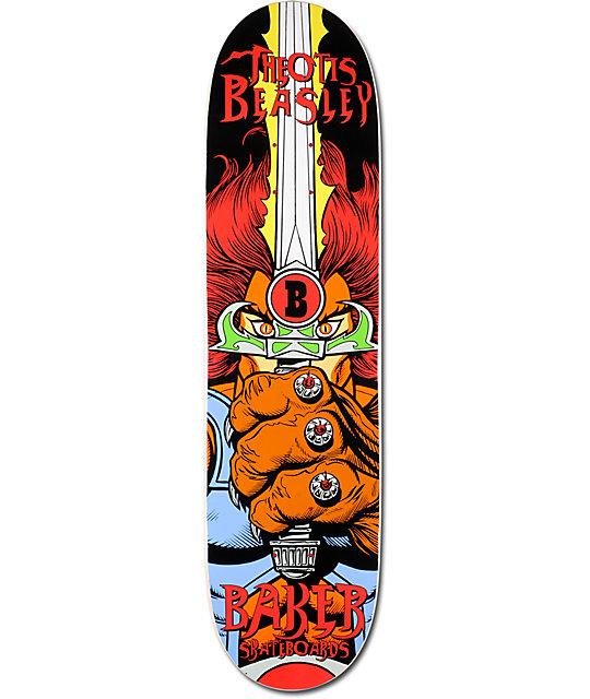 "Baker Beasley Eye Of The Tiger 8.0""  Skateboard Deck"