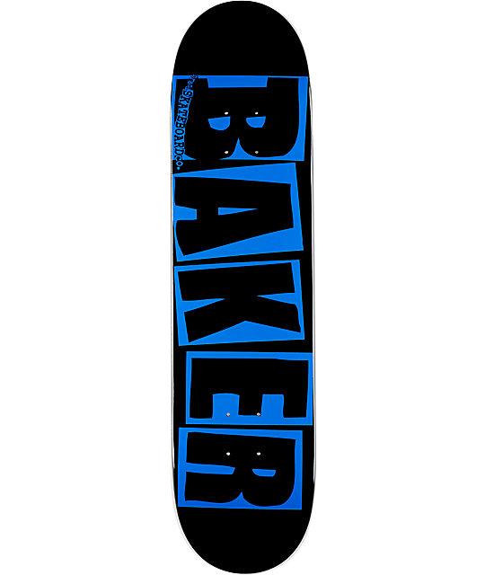 """Baker Brand Logo Blue 7.75""""  Skateboard Deck"""