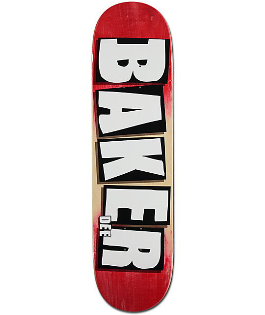 "Baker DO Gradient 8.25"" Skateboard Deck"