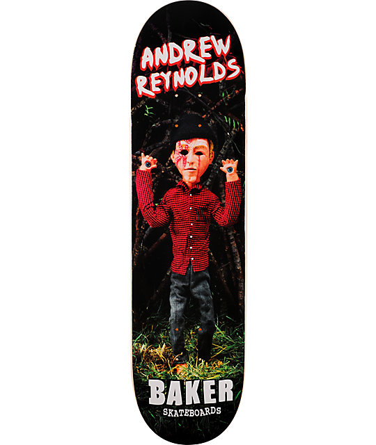 "Baker Reynolds Cursed 8.2""  Skateboard Deck"