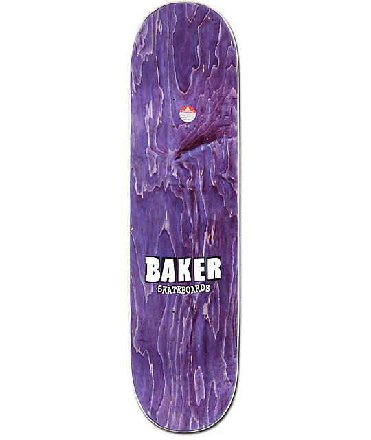 "Baker Riley Abstract 8.5"" Skateboard Deck"